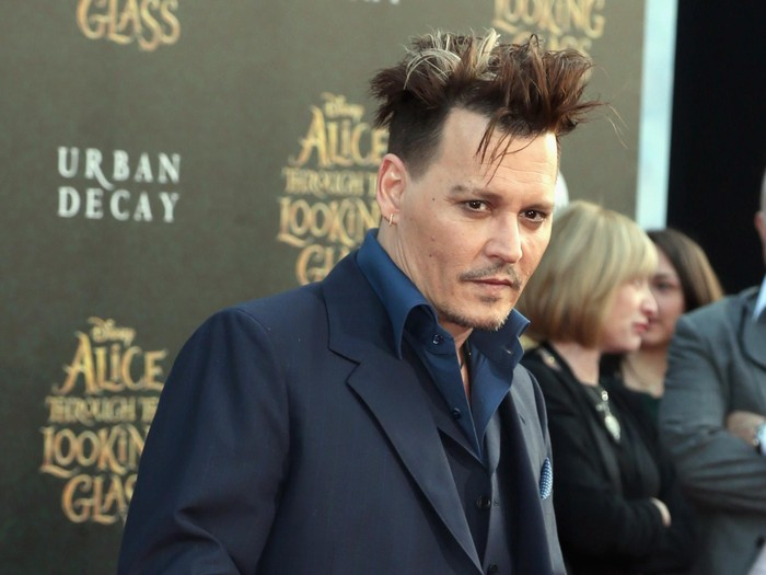 HOLLYWOOD, CA - MAY 23:  Actor Johnny Depp attends the premiere of Disneys