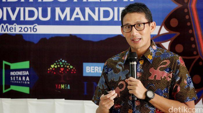 Sandiaga Salahudin Uno. Foto: Ari Saputra