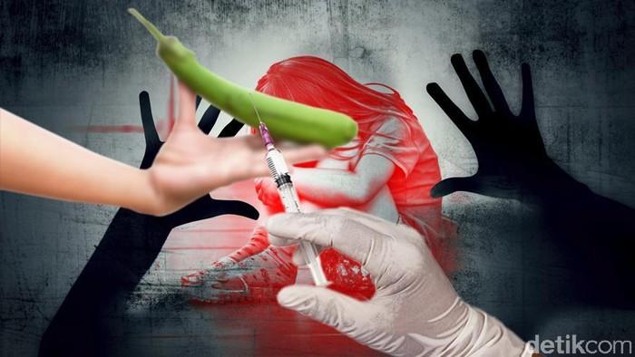 Ilustrasi Penjahat Seksual di Kebiri