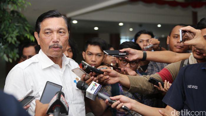Menteri Koordinator Bidang Kemaritiman Luhut Binsar Pandjaitan/Foto: Ari Saputra