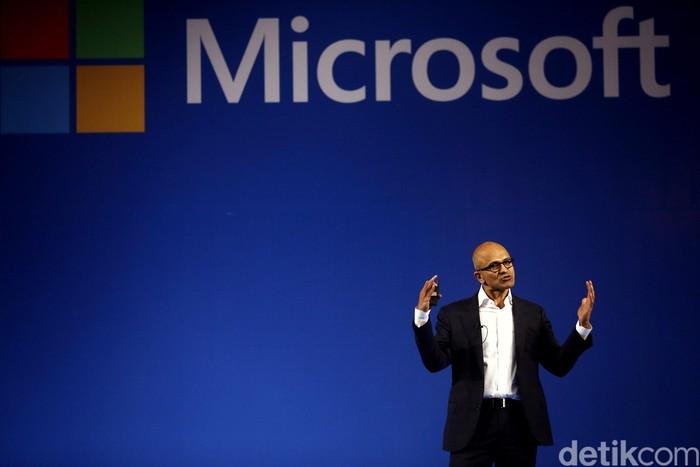 CEO Microsoft Satya Nadella di Jakarta