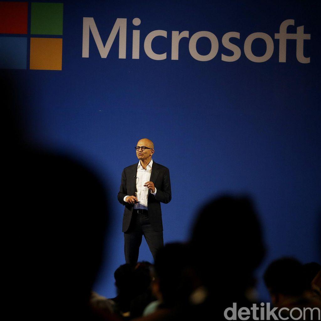 Pria India Pilihan Bill Gates Bikin Microsoft Melesat