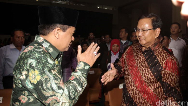Prabowo Hadiri Konser Revolusi Pancasila