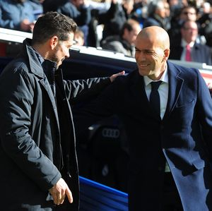 Atletico Vs Madrid: Simeone Kalah Head-to-Head dengan Zidane