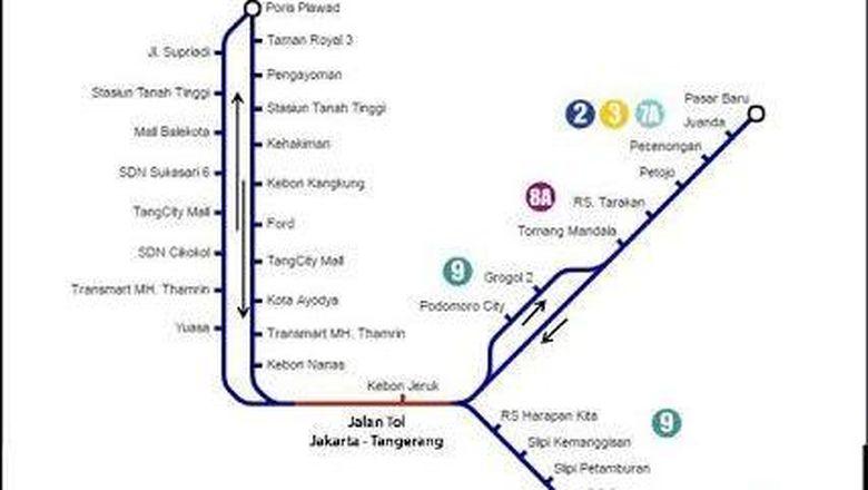 Mulai Hari Ini Transj Buka 2 Rute Baru Layani Jakarta Tangerang