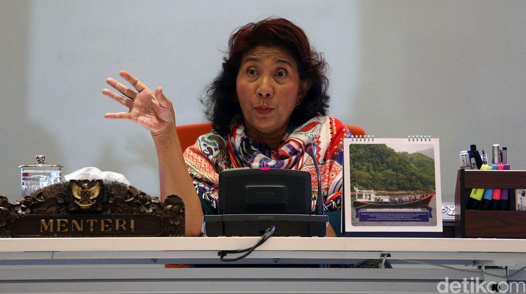 Sejak Jadi Menteri Jokowi, Susi Tenggelamkan 488 Kapal Maling Ikan