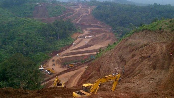 Ilustrasi Pembangunan Jalan Tol/Foto: Angling Adhitya Purbaya