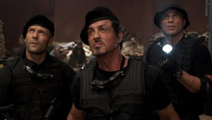 Screenshoot film The expendables 2