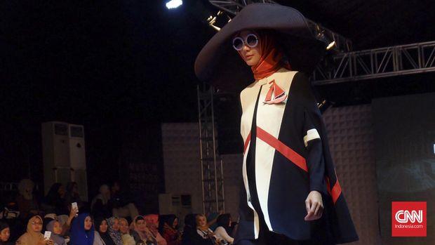 ilustrasi fashion show
