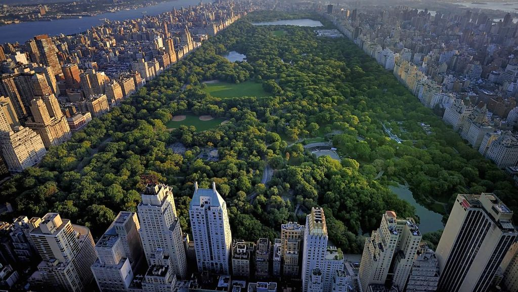 Potret Central Park, Taman Raksasa di Jantung New York