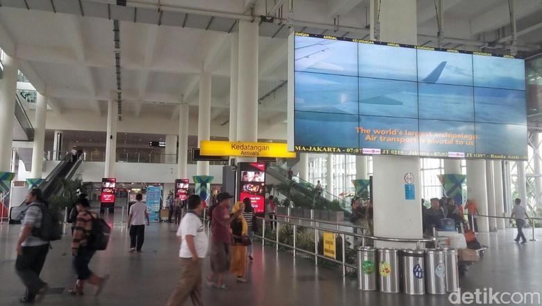 Dampak Kabut Asap, 8 Penerbangan dari Kualanamu Ditunda