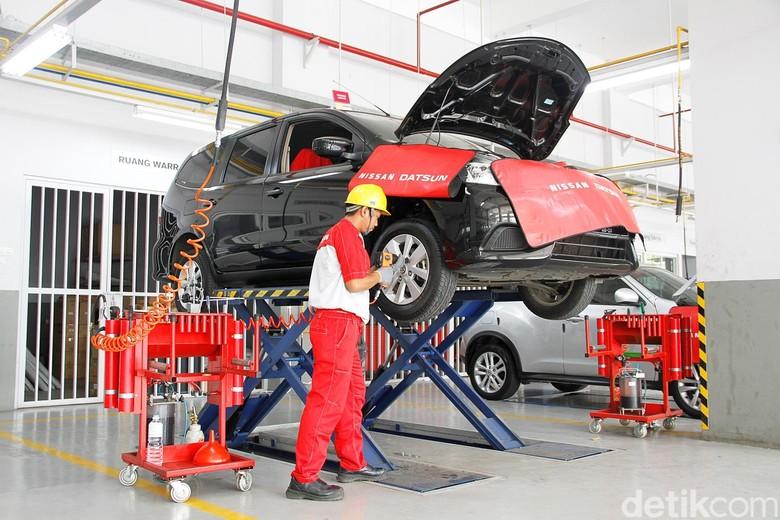 Bengkel Nissan. Foto: Nissan Motor Indonesia