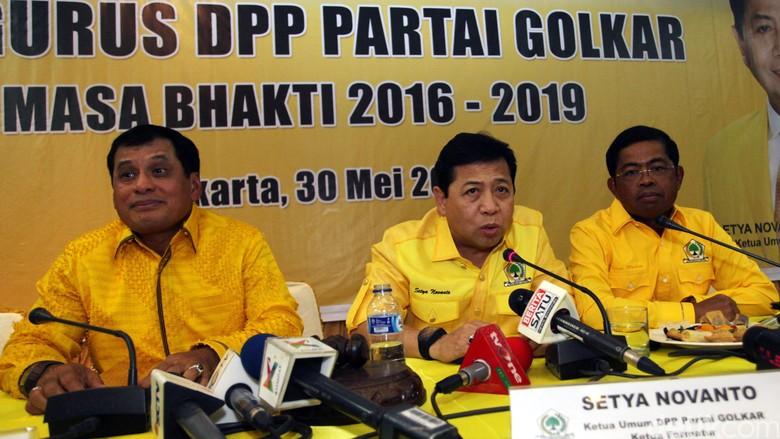 Golkar Gelar Pleno Besok, Novanto akan Pimpin Rapat