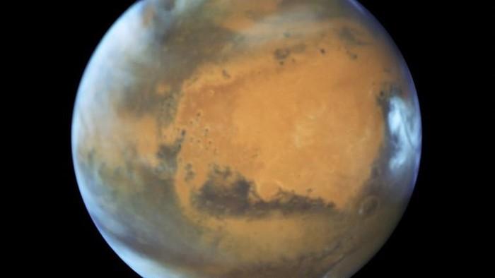 Planet Mars. Foto: ESA/HUBBLE/NASA