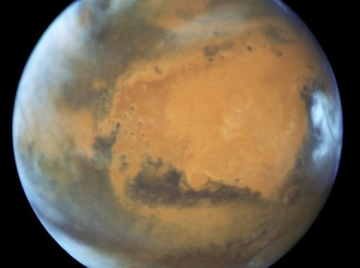 Planet Mars. Foto: ESA/HUBBLE/NASA