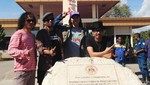 Slank Kunjungi Gerbang Perbatasan Indonesia-Timor Leste