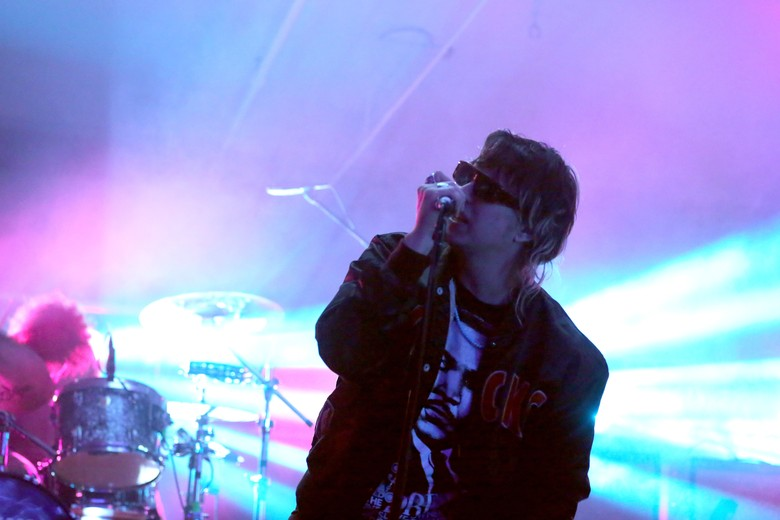 Julian Casablancas dari The Strokes. Foto: Jonathan Leibson/Getty Images for Samsung