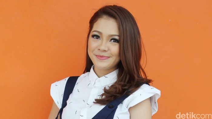 Maya Septha saat ditemui di Gedung Trans TV, Jalan Kapten Tendean, Jakarta Selatan, Senin (30/5/2016).