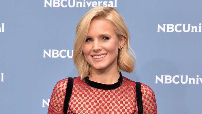 NEW YORK, NY - MAY 16:  Actress Kristen Bell attends the NBCUniversal 2016 Upfront Presentation on May 16, 2016 in New York, New York.  (Photo by Slaven Vlasic/Getty Images)