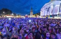 Pandemi COVID-19 diramal mengubah perjalanan global selama beberapa dekade mendatang. Ini konser musik di Jerman sebelum pandemi melanda(Foto: AFP Photo/Boris Roessler)