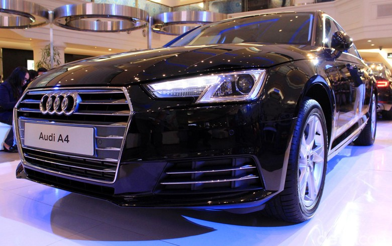 Sedan Audi A4. Foto: Lutfhi