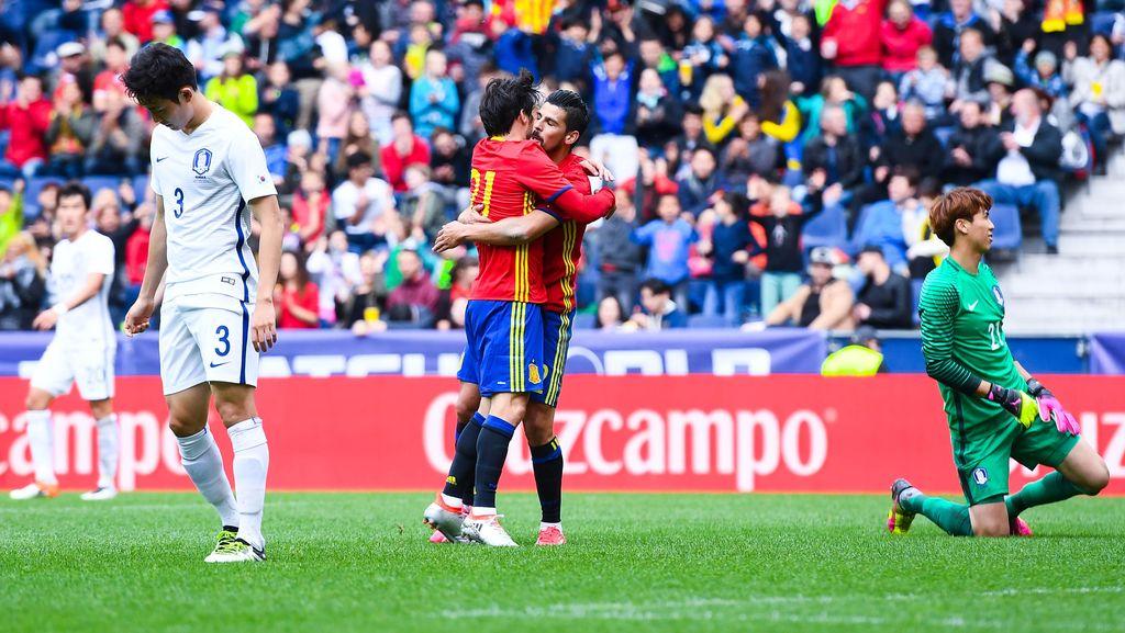 Spanyol Gasak Korsel 6-1
