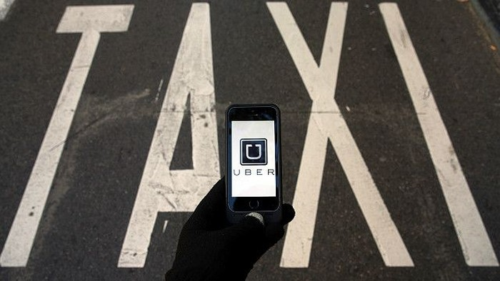 Aplikasi Uber. Foto: BBC Magazine