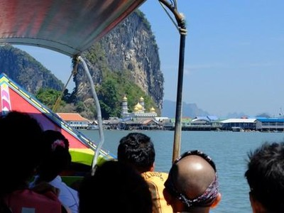 Nama Jawa, Masjid & Lapangan Terapung di Ko Panyi