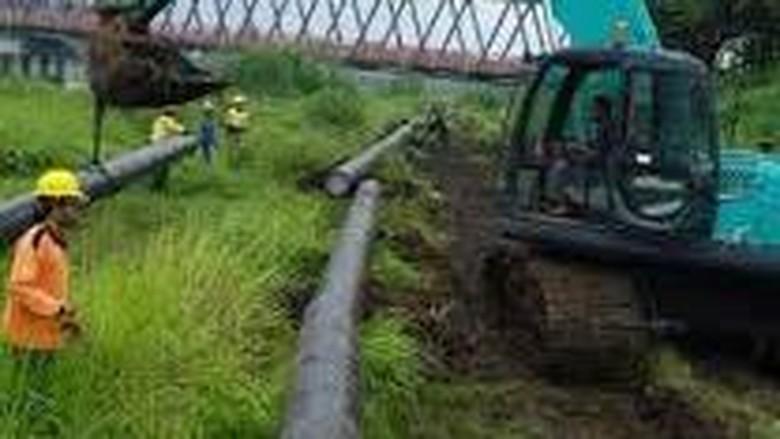 27 Km Saluran Pipa Gas PGN Mojokerto-Jombang Tersambung