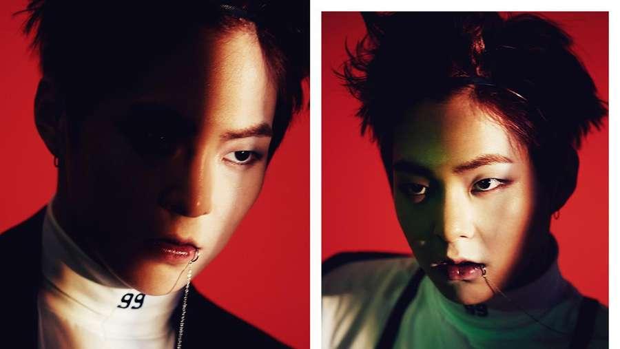Sisi Gelap EXO di Foto Teaser Monster