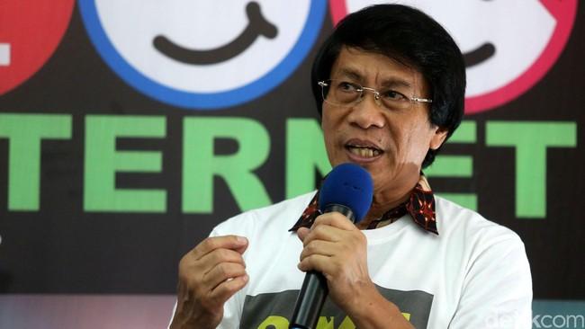 Seto Mulyadi menyayangkan terjadinya kegaduhan terkait audisi umum bulutangkis PB Djarum. (Foto: Grandyos Zafna)