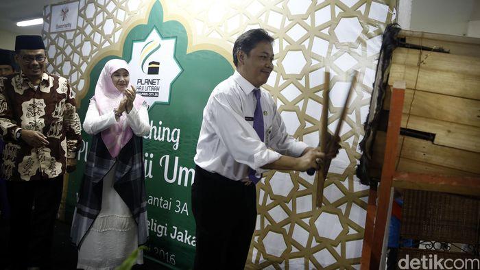 Pembukaan Planet Haji Umrah tersebut dibuka secara resmi oleh Perwakilan dari Dinas Pariwisata dan Budaya Pemprov DKI Jakarta, Ahmad Yani dengan pemukulan bedug yang disaksikan oleh Wakil ketua komisi X DPR RI Fikri Faqih dan Asma Nadia selaku Sastrawan dan penulis berbagai film ternama.