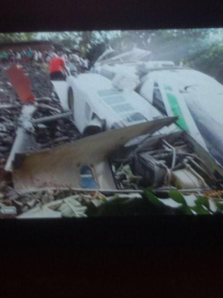 Heli Bell Jatuh di Nabire: Kecelakaan Terjadi Saat Hendak Pendaratan di Helipad