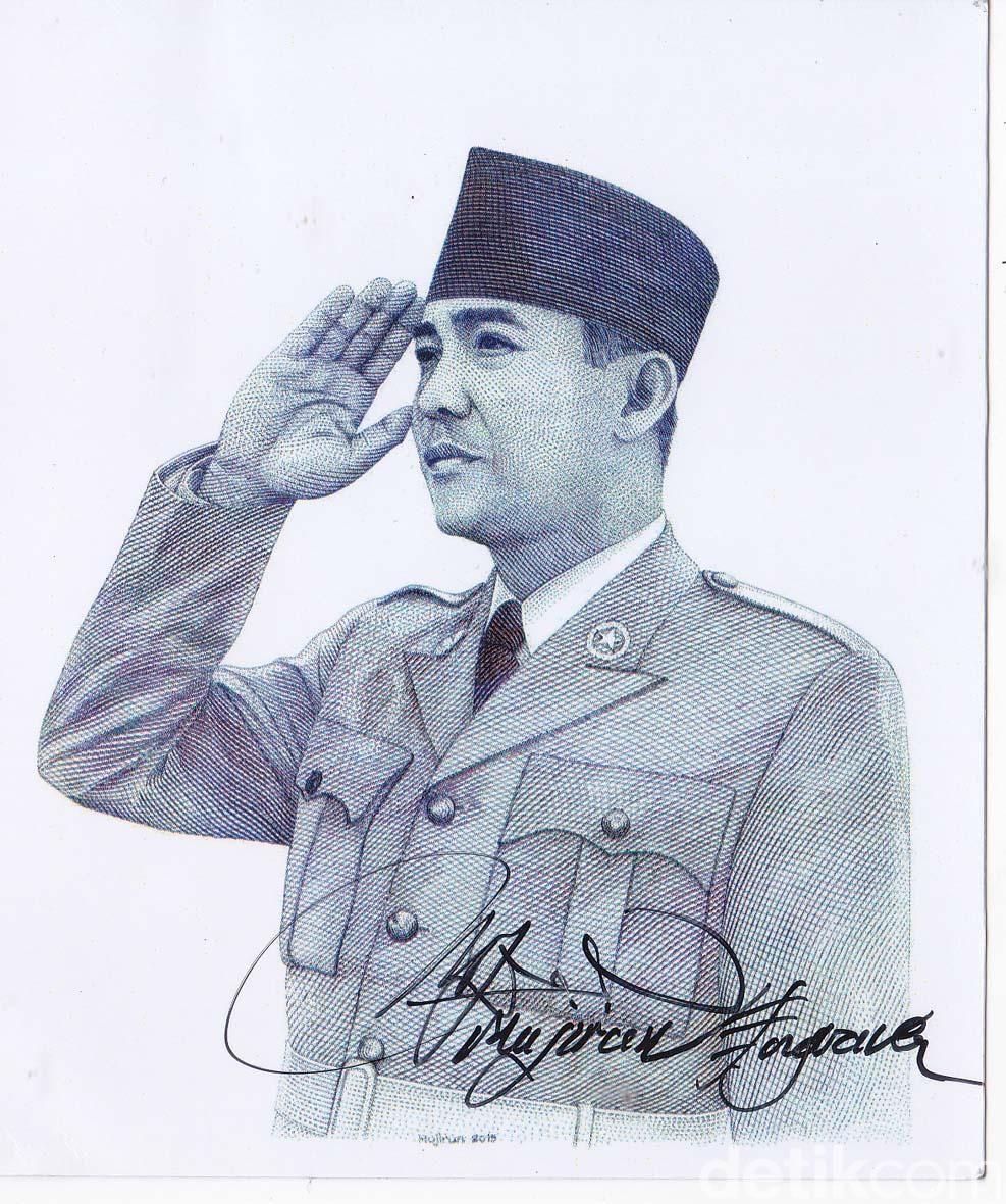 Gambar Muka Pahlawan Indonesia