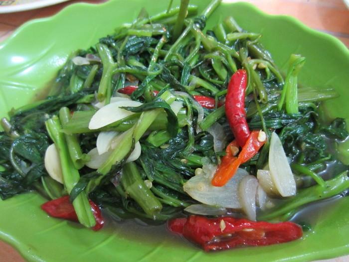 Resep cah kangkung enak. Foto: detikfood