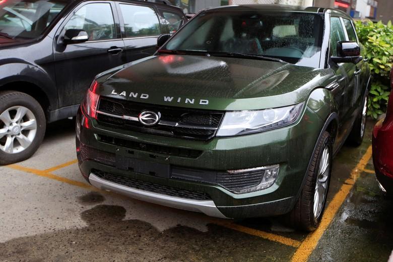 Jiangling Landwind X7 Mirip Range Rover Evoque. Foto: Reuters