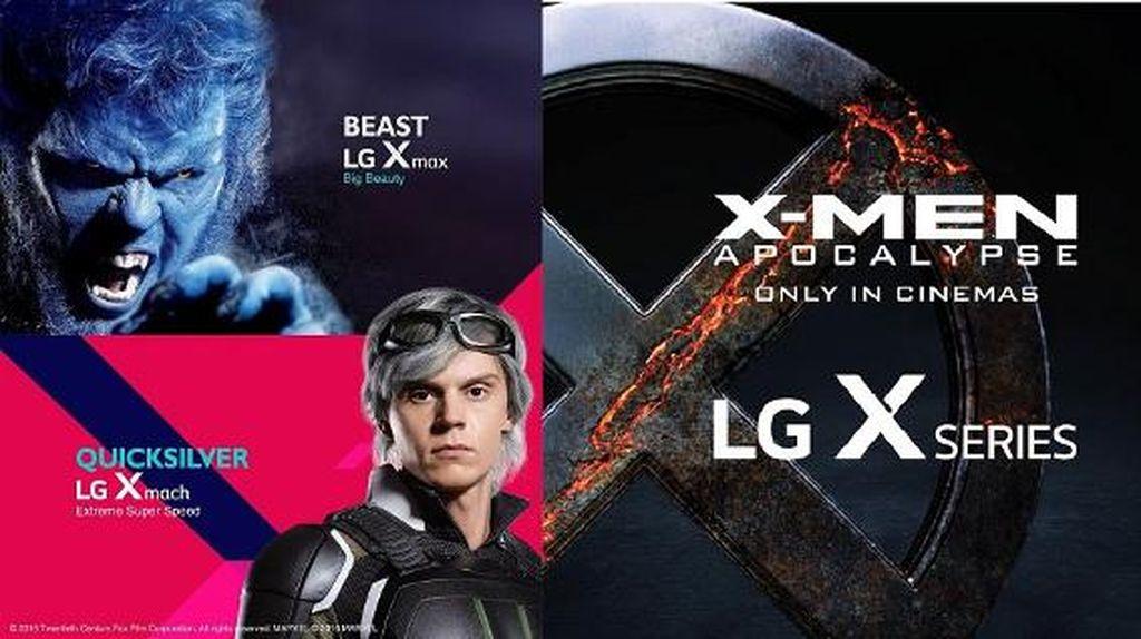 Jagoan X-Men Jadi Karakter LG X Series