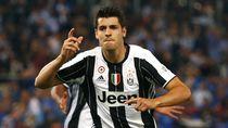 Video: Lihat Lagi Gol-gol Terbaik Alvaro Morata di Juventus