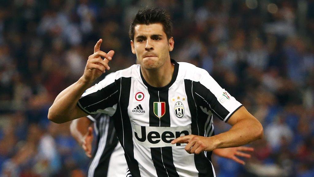 Sah! Alvaro Morata Jadi Pemain Juventus Lagi