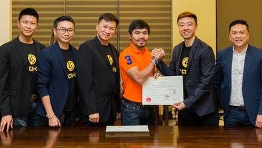 Dari Ring Tinju, Manny Pacquiao Terjun ke Startup