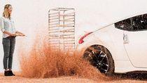 Hiasi Donat dengan Drift Pakai Nissan 370Z Nismo