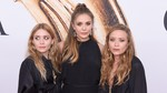 Kompak! Mary-Kate, Ashley dan Elizabeth Olsen Tampil Serba Hitam