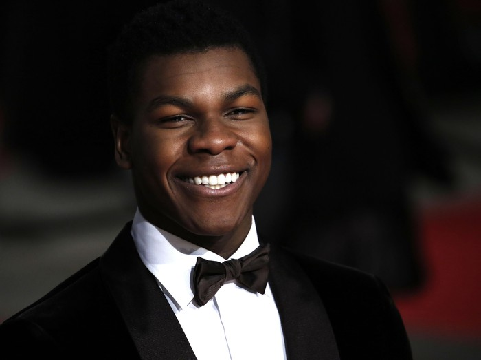 LONDON, ENGLAND - FEBRUARY 14:  John Boyega attends the EE British Academy Film Awards at The Royal Opera House on February 14, 2016 in London, England.  (Photo by John Phillips/Getty Images)
