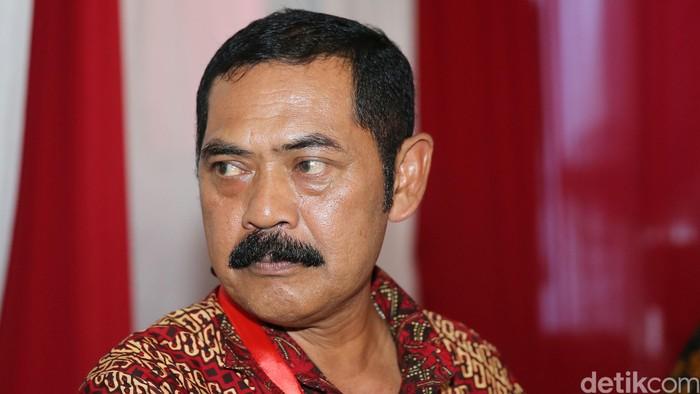 Fransiskus Xaverius Hadi Rudyatmo saat menghadiri haul Taufiq Kiemas ke-3 di Jakarta, Rabu (8/6/2016).