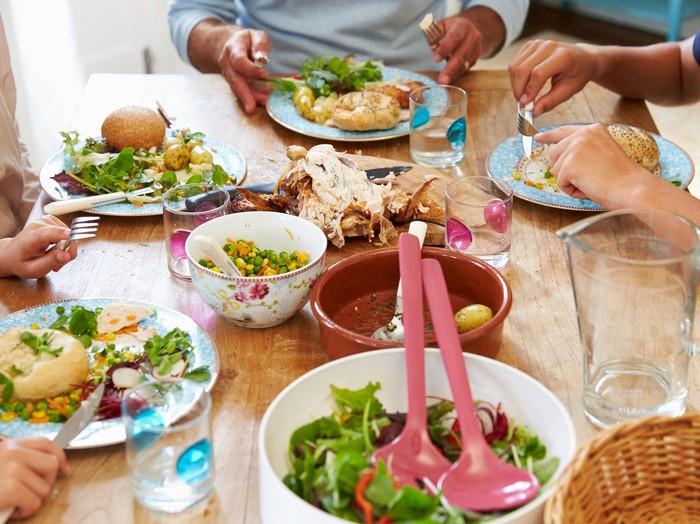 Rahasia bisa makan banyak tanpa harus takut gemuk/Foto: thinkstock