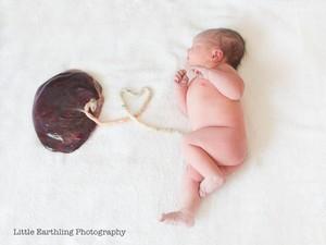 Tren Foto Kelahiran Terbaru: Bayi Pose Bareng Plasenta