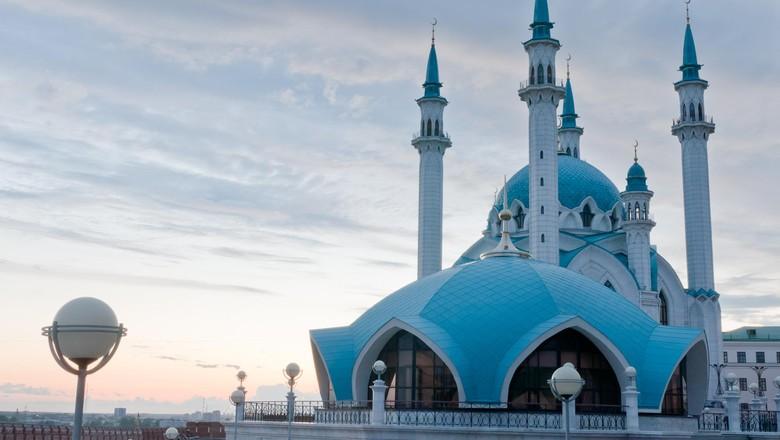 Foto: Ilustrasi Masjid Kul Sharif di Rusia (Thinkstock)