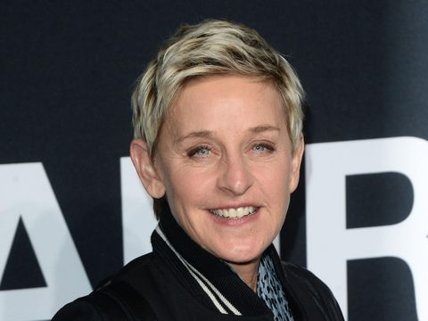 LOS ANGELES, CA - FEBRUARY 10:  TV Personality Ellen DeGeneres arrives at the Saint Laurent show at the Hollywood Palladium on February 10, 2016 in Los Angeles, California.  (Photo by Matt Winkelmeyer/Getty Images)