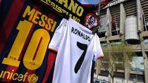 Ronaldo Kalahkan Messi...di Daftar Atlet Berpendapatan Terbesar
