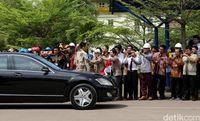 Mobil dinas Jokowi